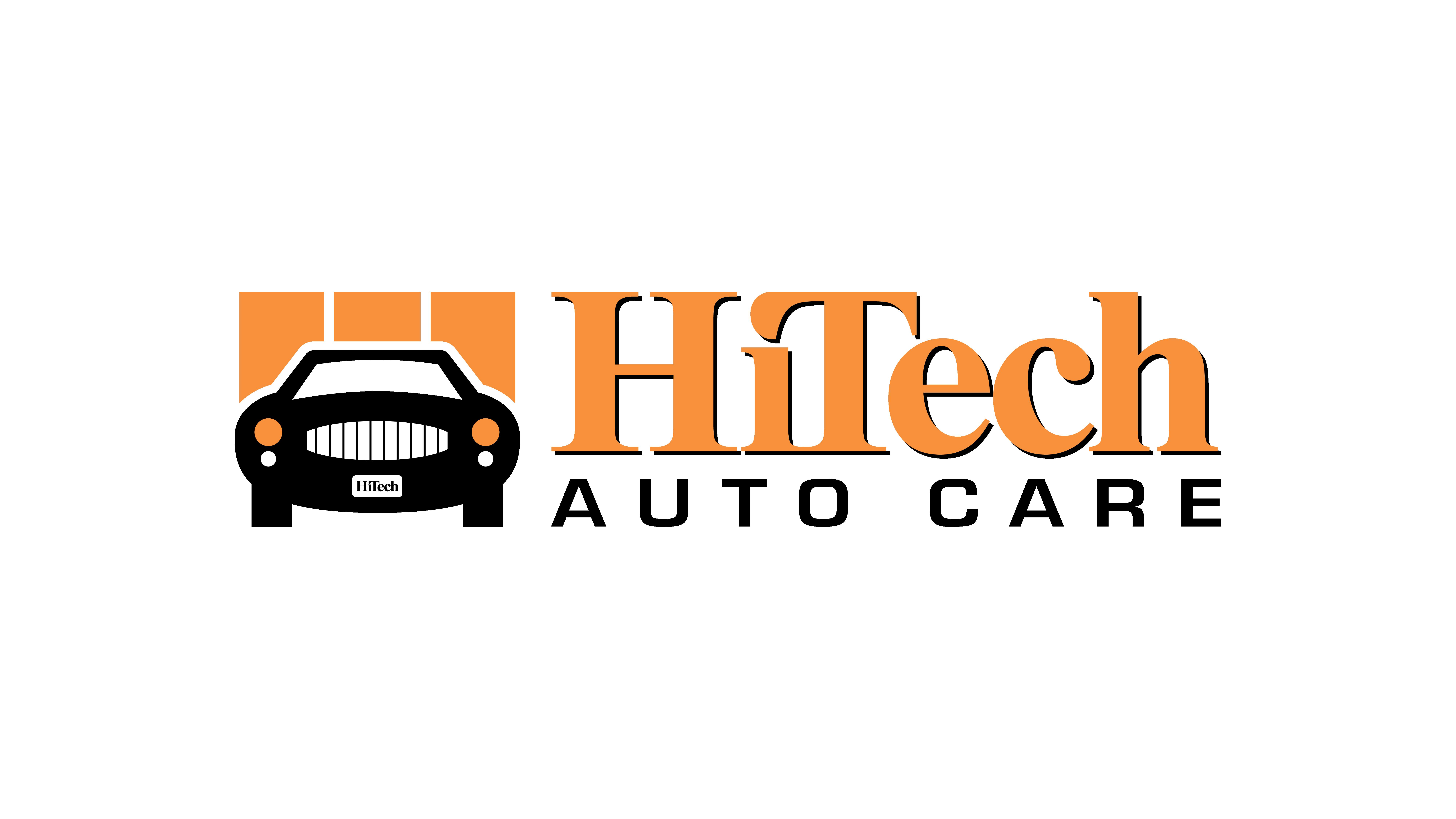 High Tech Auto Logo